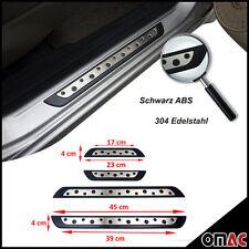 HYUNDAI TUCSON ix35 Kia Sportage barre di ingresso in acciaio inox abs cromo 4tlg