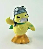Ming Ming Wonder Pets Toy Figure - Duck with Aviator Hat & Goggles + Green Cape