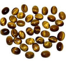 Natural Yellow Tiger Eye 12x16 MM Oval Shape Cabochon Loose Gemstone Hoj_05_84