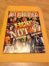 1997 Hit Parader Who's Hot Who's Not '97. Nirvana, Manson, NIN, Pearl Jam, Bush