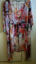 TS WOMENS PINK/PURPLE MULTI COLOURED SUMMER JACKET SIZE SMALL