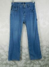 "Vtg Gasoline Women's Jeans Size 11/12 Blue Denim High Waist Mom Jeans 30"" Inseam"