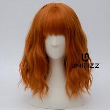Lolita Women Orange Curly 35CM Synthetic Cosplay Heat Resistant Wig