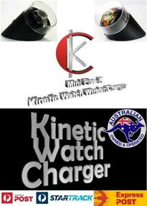 Single Display Kinetic Automatic Watch Winder/Charger model: Minipisa-K