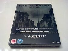 The Pianist Steelbook (Blu-ray, Uk Import) Region B Locked Only 2,000 Made