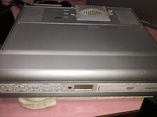 Audiovox KCD3180 Under Cabinet Kitchen CD CD-R Player Clock Radio w/ Light