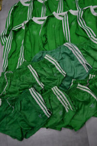 Lot Of Vintage Germany Adidas Football Only Shorts Made In West Germany