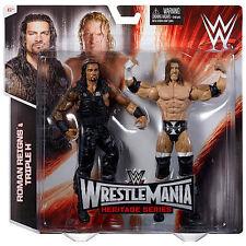 Official WWE Wrestlemania 31 Battle Pack Roman Reigns vs Triple H Action Figure