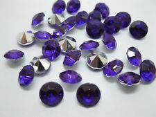 1000 Diamond Confetti 10mm Wedding Party Table Scatter-Purple