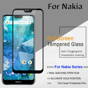Screen Protector Full Cover Tempered Glass For Nokia 8.3 5G 5.3 2.3 7.2 6.2 4.2
