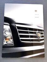 2005 Cadillac Escalade 46-page BIG Sales Brochure Catalog - EXT Platinum ESV