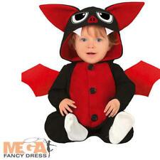 Baby Bat Kids Fancy Dress Spooky Halloween Animal Boys Girls Toddler Costume