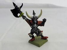 Warhammer   Vampire Counts painted  lord  Krell Wight champion   OOP metal