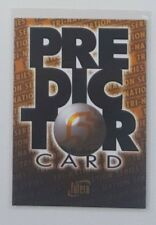 1996 Futera Rugby Union Predictor card #PC1 Australia Wallabies