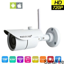 720P HD Outdoor Wifi Security Wireless Waterproof Webcam IP Camera Night Vision