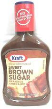 Kraft Sweet Brown Sugar Barbecue Sauce BBQ 18 oz  - 6 Bottles