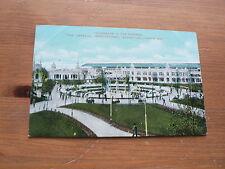 Imperial International Exhibition 1909 Postcard, Promenade in the Gardens