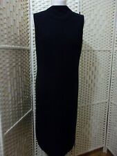 Size 14 black wool blend St Michaels dress from Marks and Spencer.