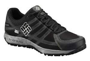 Columbia Mens Black Lux Conspiracy III Outdry Hiking Trainers