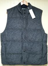 Vince Wool Down Vest Jacket Mens 2XL Gray NWT $425.00