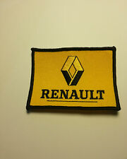 RENAULT EMBROIDERED CLOTH BADGE