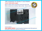 Brother TZ-335 P-Touch Compatible White on Black Puty Label Tape 12mm 8m TZe-335