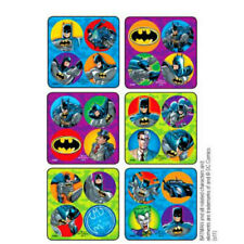 100 Batman MiniBadges STICKERS Birthday Party Favors for Treat Loot Bags mini