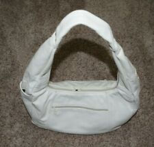 Brand New Beautiful Leather Ivory Colored Purse with Shoulder Strap