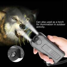 130dB Dog Repeller Control Trainer Ultrasonic Anti Bark Device Stop Barking