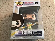 Bob Ross with Paintbrush Funko Pop