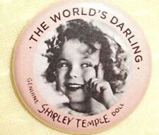 "Collectible Repro Pin 1.5"" Replacement for Your Composition Shirley Temple Doll"