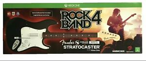 NEW Xbox One Rock Band 4 Wireless Guitar Game Controller BLACK Factory Sealed
