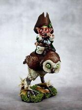 Leprechaun and Owl Reaper Miniatures Dark Heaven Legends Mounted Rider Gnome