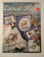 Carousel Magic Leisure Arts 2366 Counted Cross Stitch Carousel Horses