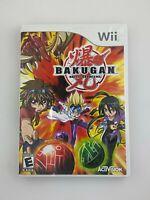 Bakugan Battle Brawlers - Nintendo Wii Game - Complete & Tested