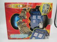 Doctor Who MILK CHCOLATE EGG WITH TARDIS LOCK UP TIN - MIB