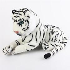 White Tiger Fluffy Stuffed Animal Plush Soft Doll Toy Kids Baby Cuddle Pillow