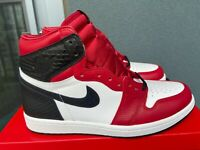 NEW Nike Air Jordan 1 I Retro High Satin Snake Chicago sz 6.5 WMNS 6.5W Bulls