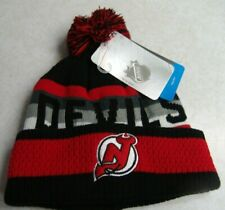 NHL New Jersey Devils Youth Beanie NWT