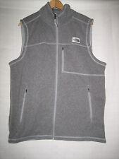 The North Face Fleece Vest Men's L Gray Hiking Outdoors