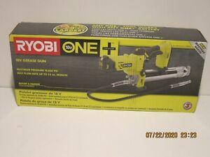 RYOBI P3410 Grease Gun 18V Lith-Ion Lock-On/Lock-Off Trigger(Tool-Only)NISB FSHP