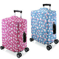 "Dot Elastic Luggage Spandex Cover Protector For 18'' 20"" 24'' 28'' Suitcase"
