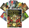 Postcards Pack [24 cards] Vintage Heavy Metal Magazine Covers CC1105
