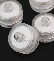 10X LED Teelicht Wasserdicht Unterwasser Schwimmkerze Tauch Party Lights Leucht