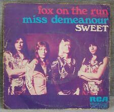 THE SWEET FOX ON THE RUN - MISS DEMEANOUR - VINILO SINGLE