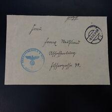 ALLEMAGNE DEVANT DE LETTRE FELDPOST BRIEF 09.03.1942