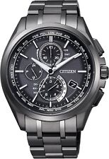 Citizen Attesa Eco-Drive AT8044-56E Radio Clock Direct Flight From Japan New