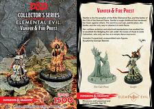 D&D Collector's Series - Elemental Evil: Vanifer & Fire Priest 71037