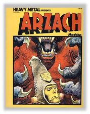 Moebius Arzach Heavy Metal Book en anglais
