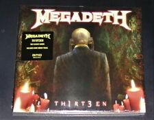MEGADETH TH1RT3EN CD IM DIGIPAK MIT BONUS LIVE TITEL SCHNELLER VERSAND NEU & OVP